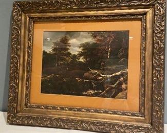 Jacob van Ruisdael Framed Print