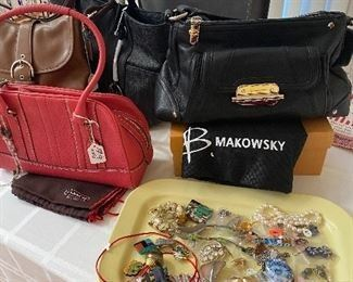 Designer Bags Coach + Makowsky with Dust Bags PRICED TO GO