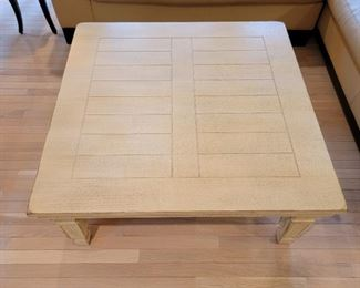 coffee table: 17 x 41.  $195