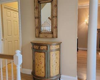 cabinet: 38 x 32 x 16, mirror: 39 x 24