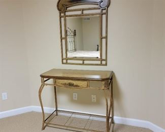 $1950 (set). vanity: 32 x 38 x 18, mirror: 42 x 30