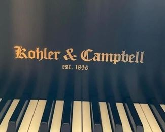 """Kohler & Campbell Piano (Serial No. KCG-5000) and Bench, 5'D 58""""W. Photo 1 of 6"""