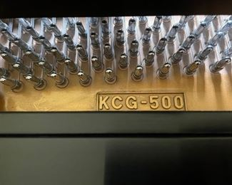 """Kohler & Campbell Piano (Serial No. KCG-5000) and Bench, 5'D 58""""W. Photo 5 of 6"""