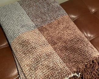 Mom would love to cozy up under this plush chenille throw!