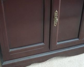 A very beautiful JC Penny Home Collection China hutch