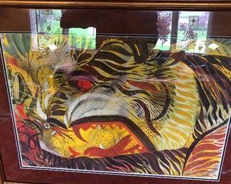 Paul Travis watercolor