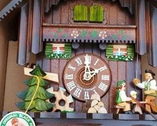 New in Box Black Forest Cuckoo Clock
