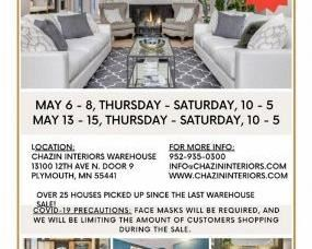 Large discounts on new and like new furniture and accessories.