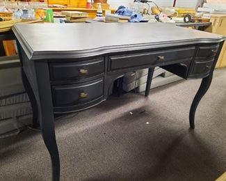 Charcoal Grey desk