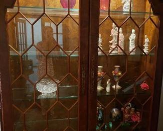 Ethan Allen Birdseye Maple Cabinet