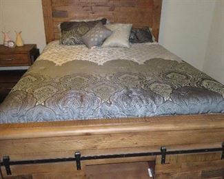 Other Farmhouse  Style Queen Size Bed - Has Storage Underneath