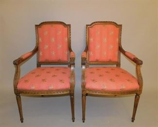 Pr. French chairs