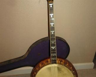 Antique Franklin banjo