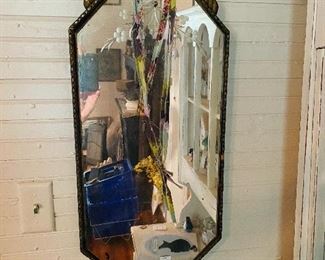 Antique Octagon Mirror