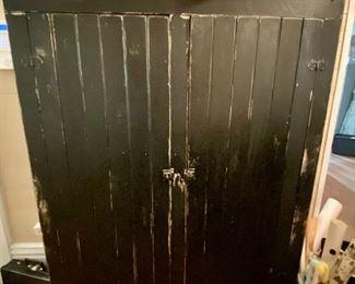 Distressed Storage Cabinet