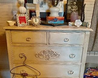 Antiqued Chest of Drawers