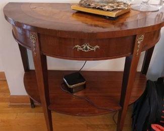 Graceful side table