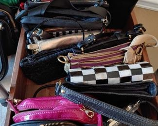 Wallets and small purses - designer