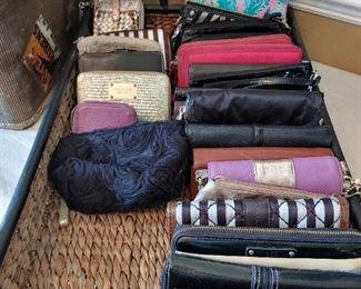 Designer wallets and bags