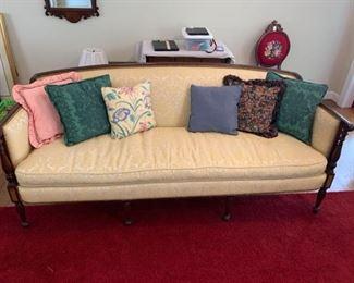 Vintage Duncan Phyfe Sofa