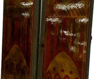 Salvaged Porcelain Enamel Doors from Downtown Cincinnati Building