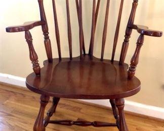 Ethan Allen Duxberry Windsor Arm Chair