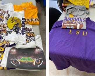 https://www.ebay.com/itm/114793424944	TM9401 Lot of LSU: 9 T Shirts		Auction