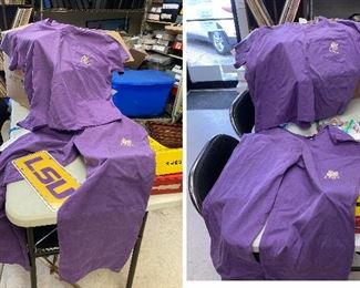 https://www.ebay.com/itm/114793423650	TM9400 Lot of LSU: 2 Set of Scrubs and a Flannel Bottom		Auction