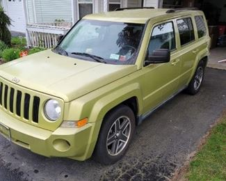 2010 Patriot Jeep