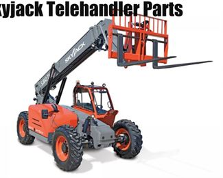 +Skyjack VR  NEW Telescoping Telehandler -Maximum Lift Height Rough Cowlings  Assy # TH-107HP   PN 190663 AG