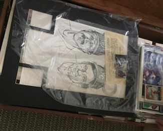 Lots of baseball & other sports cards--many unopened