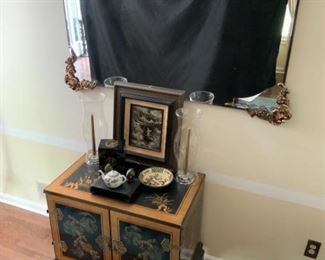 East Asian Cabinet Mirror
