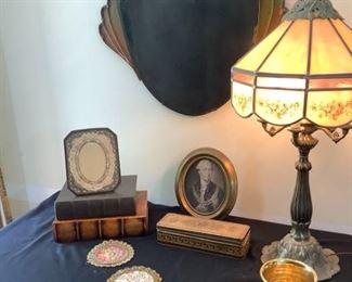 Antique Hanging Fan Mirror