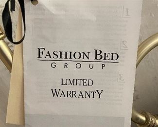 All of the warranty information with the bed...........Picture 3 of 3