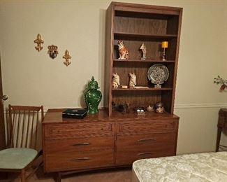 """Sculptra"" Broyhill Mid Century Chest/Bookcase"
