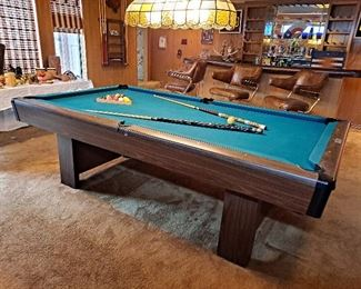 "Brunswick ""Bristol"" Slate Pool Table"