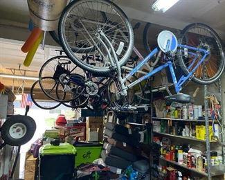 Bikes, bikes and bikes