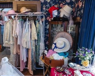 DRESSES and HATS