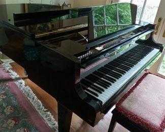 Yamaha Baby Grand Piano and Bench