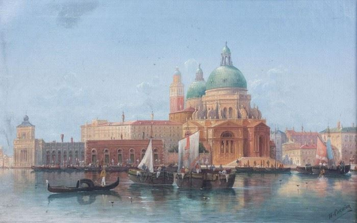 Carnier Kaufmann Grand Canal Venice