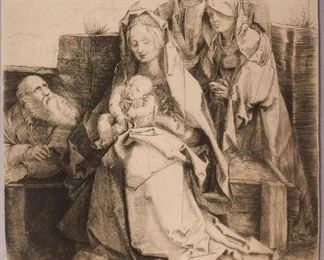 Durer Holy Family w Saints
