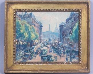 Frank Armington Paris Painting