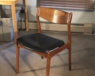 Three Danish Modern Chairs