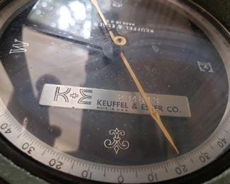 Vintage Keuffel & Esser transit