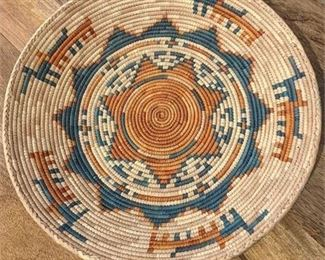 Lot 013 Handwoven Indigenous Basket