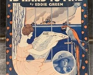 Lot 129 Sheet music- A Good Man is Hard to Find