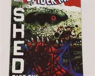 Lot 145 The Amazing Spider-Man Shed Part One Marvel Comic Book 630 July 2010