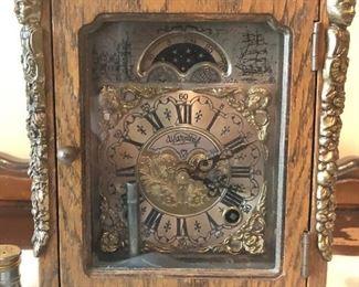 Beautiful Warmink Moon Phase Clock (Dutch)
