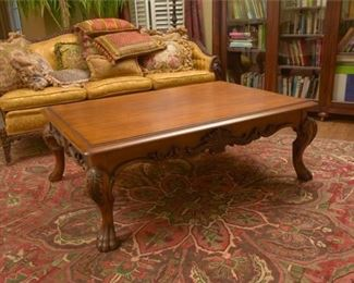 3. Large Scale Mahogany Low Table