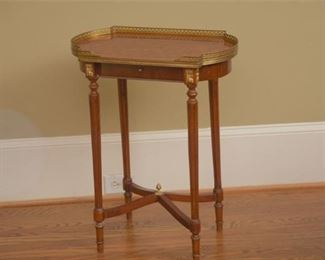 4. Louis XVI Style Side Table